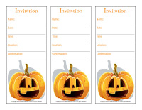 Invitations-pumpkin
