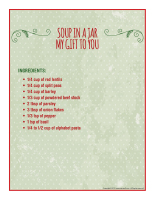 Labels-Handmade gifts-Soup-1