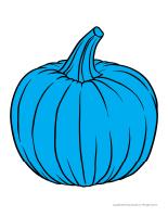 Large colourful pumpkins