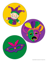 Large stickers-Mardi Gras-1