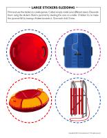 Large stickers-Sledding-1