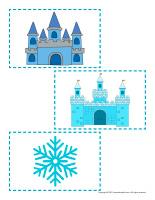 Large stickers-Snow bricks