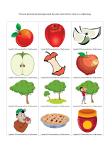 Magnifying glass game-Apples