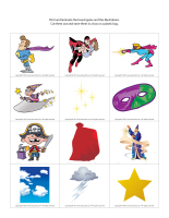 Magnifying glass game-Superheroes