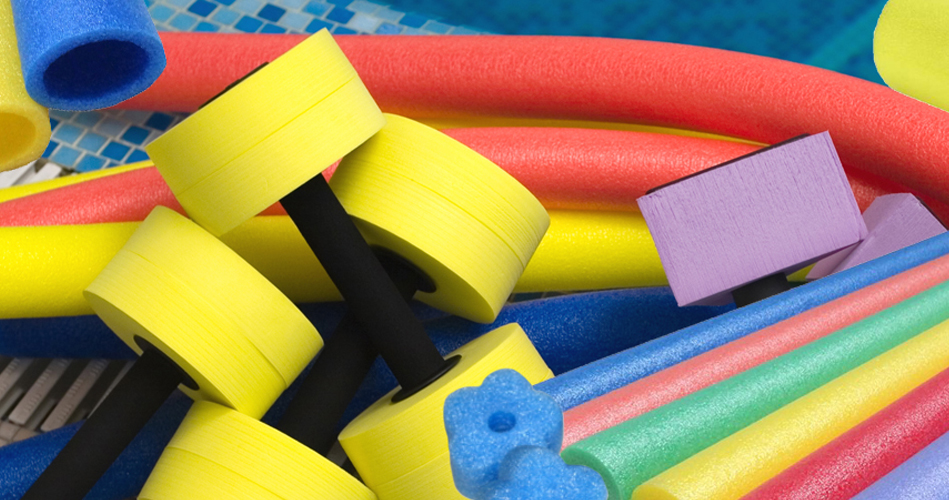 Sleep Science Mattress >> Make giant beads out of swimming pool noodles - Extra activities - Educatall