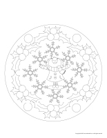 Mandalas-Christmas vacation