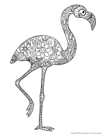 Mandalas-Flamingoes