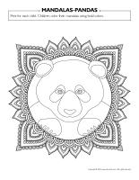 Mandalas-Pandas