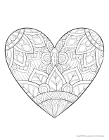 Mandalas-Valentine's Day