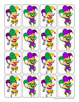Mardi Gras jesters