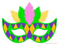 Masks-Mardi Gras