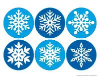 Mobile-Snowflakes