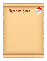 Model-Letter to Santa