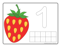 Modeling dough activity placemats-Berries