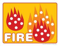 Modeling dough activity placemats-Fire-3