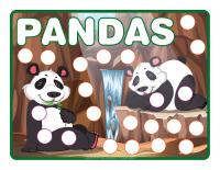 Modeling dough activity-placemats-Pandas