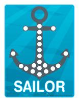 Modeling dough activity placemats-Sailors-1