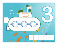 Modeling dough activity placemats-Submarines-2