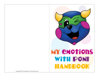 My emotions with Poni handbook