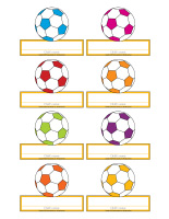 Name tags-Soccer