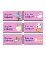 Naptime containers-Routines