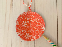 Paper Christmas Balls-5