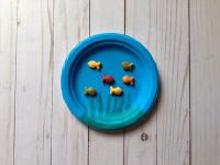 Paper Plate Goldfish Bowl-4