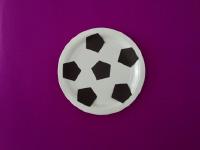 Paper Plate Soccer Ball-3