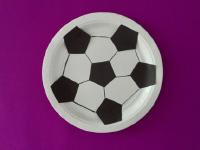 Paper Plate Soccer Ball-4
