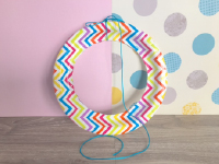 Paper Plate Sun Catchers-2