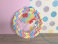 Paper Plate Sun Catchers-3