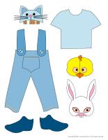 Paper dolls-Easter-1