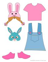 Paper dolls-Easter-2