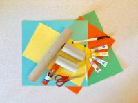 Paper roll mini city-1