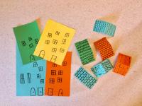 Paper roll mini city-3