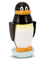 Penguin Stacker Wooden Toy-1