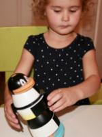 Penguin Stacker Wooden Toy-5