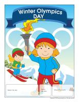 Perpetual Calendar-Winter Olympics