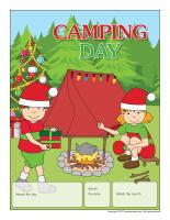 Perpetual calendar-Camping Day