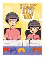 Perpetual calendar-Crazy hair Day
