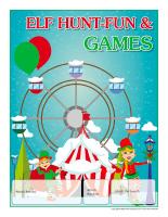 Perpetual calendar-Elf hunt-Fun & games