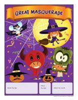 Perpetual calendar-Great masquerade