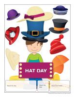 Perpetual calendar-Hat Day