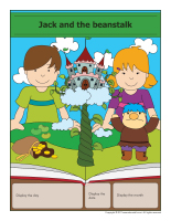 Perpetual calendar-Jack and the beanstalk-1