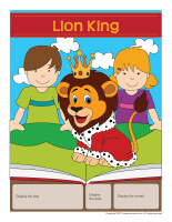 Perpetual-calendar-Lion King