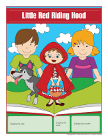 Perpetual calendar-Little Red Riding Hood