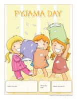 Perpetual calendar-Pyjama Day