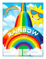 Perpetual calendar-Rainbow Day