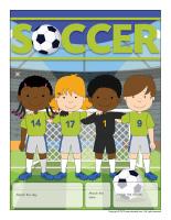 Perpetual calendar-Soccer
