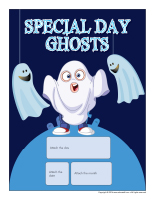 Perpetual calendar-Special Day-Ghosts